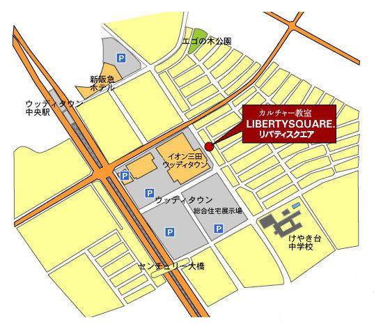 リバティスクエアmap