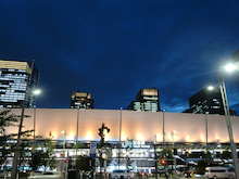 東京駅八重洲口夜景1