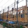 蓮花院新築工事⑤ 客殿建前の画像