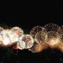 琵琶湖の花火☆