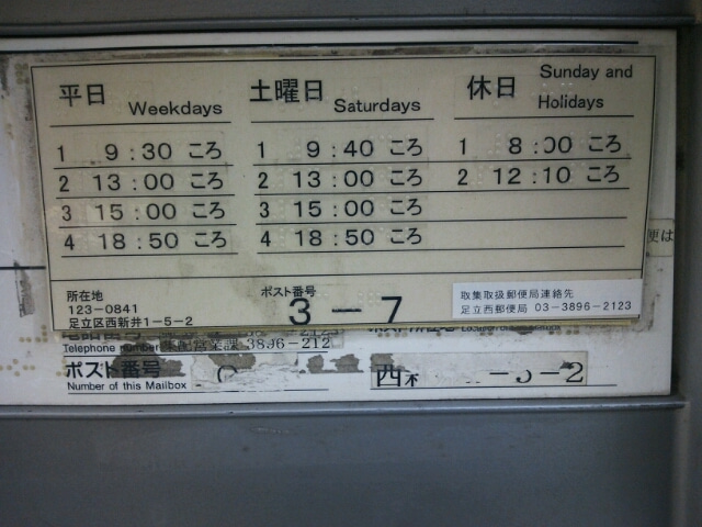 葛飾新宿郵便局