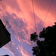 西の空に注目ぅ♪