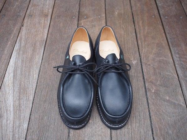 fe2eee0e0965 Model: MICHAEL(ミカエル) Color: LIS-NOIR (BLACK) Size: 40H,41,41H Price:  ¥65,000 (+tax)