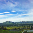 中岳火口の噴火の様子…