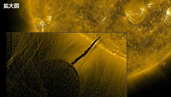 太陽と暗黒星の接近