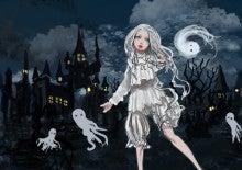 ハロウィン白少女