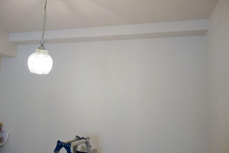新築マンション/リビング(コンクリ壁)に取付