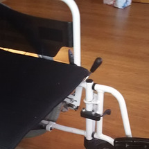 車椅子のフットレスト