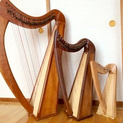 ハープは音が小さく夜でも弾けるの記事に添付されている画像