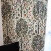 【施工事例】マンション☆海外イギリスブランド【ウィリアムモリス】の麻厚手カーテンの画像