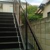 鉄階段三色塗りの画像
