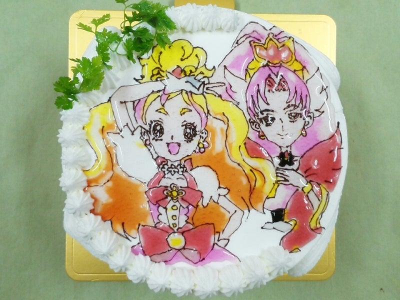 イラストキャラクターケーキgoプリンセスプリキュアです 岐阜市の