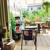 カフェで休憩の画像