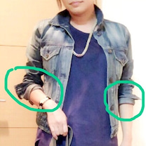 【再アップ】Gジャンのこなれた袖まくり方法は?の記事に添付されている画像