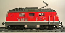 LEGOでスイス国鉄Re420形電気機...