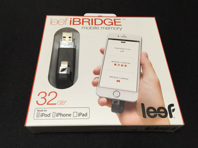Lightning接続USBフラッシュメモリ