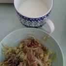 【食事レコ】卵カレーと肉野菜炒めの記事より