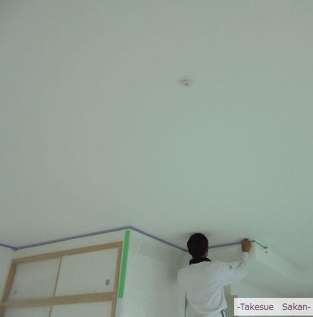 豊中市 新築マンション ビフォーの天井