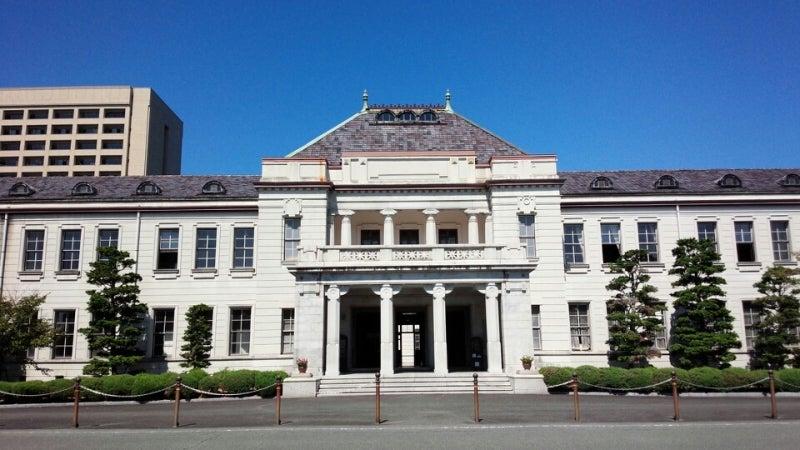 旧県会議事堂と旧県庁舎/山口県...