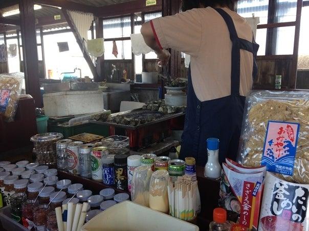 サザエのつぼ焼き売店1