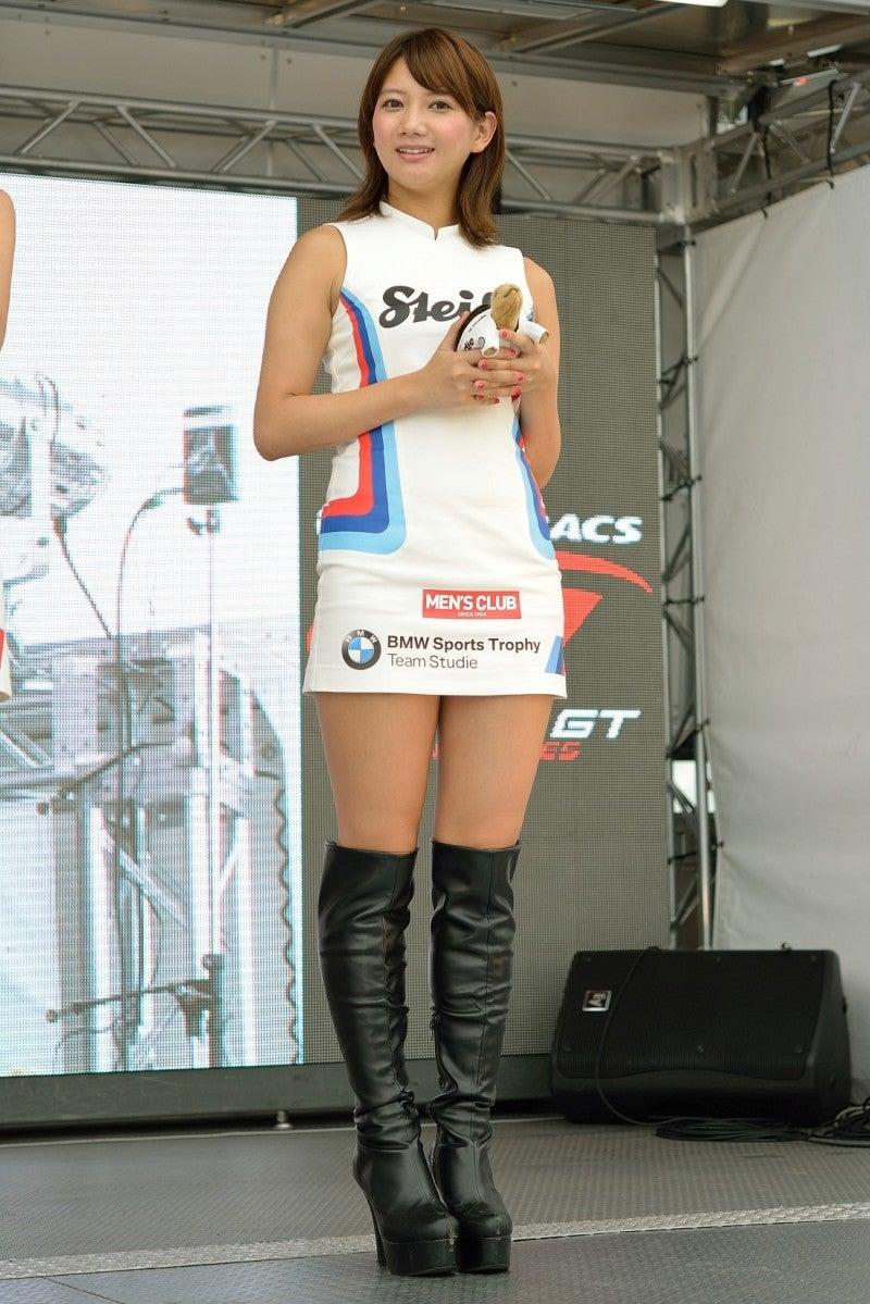 たつのブログSUPER GT ROUND5 BMW Team Studie 神宮智子さん