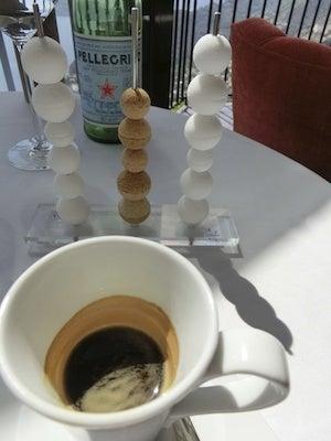 カフェとお砂糖