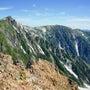 この夏の白馬三山