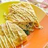 粉豆腐ときのこの味噌チーズオムレツの画像