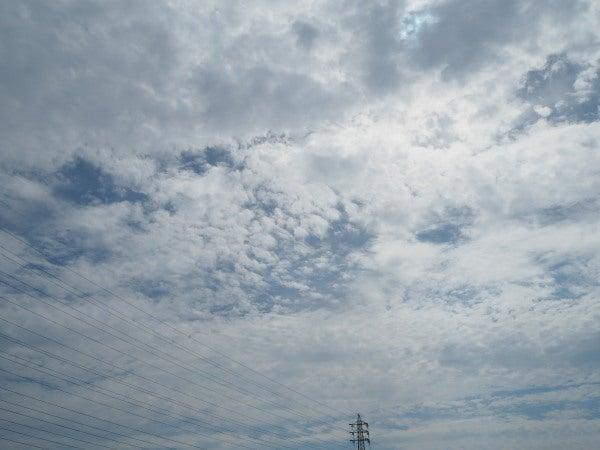 9月30日の雲 高積雲 巻雲 | Clou...