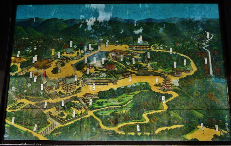 三井 寺 境内 図