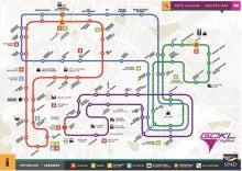 GOKL路線図