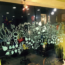 手描き!!お店の窓!…