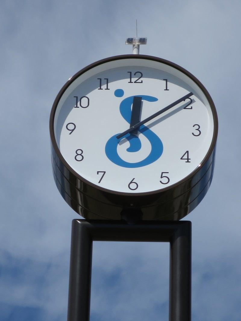 認証20周年記念事業として、西条市に時計塔を寄贈の記事より