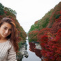 みさきんぐと紅葉の旅