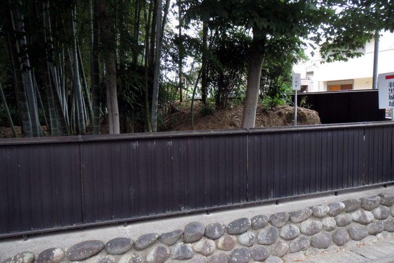 羽黒城/②土塁