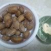 朝からジャガイモ…。の画像