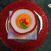 トマトとキノコのリゾットの画像