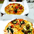 初のデリバリーピザ!