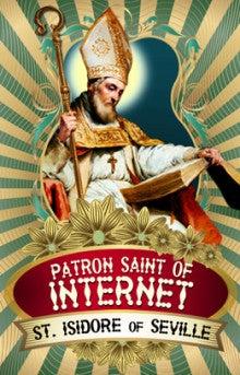インターネットを守護する聖人が...