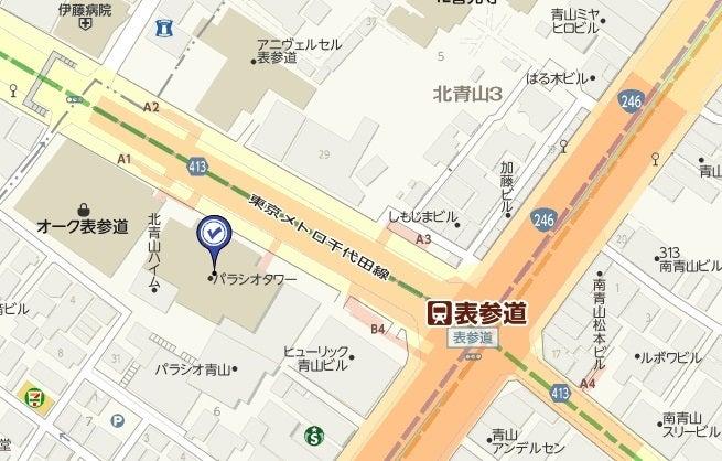 青山パラシオタワー,地図