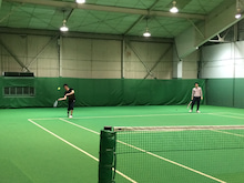 テニス風景