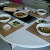 mamacafe Foodコース 羽根つき餃子 etcの画像