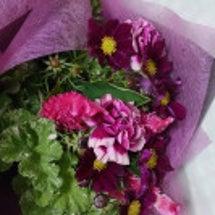 ピアノ発表会の花束