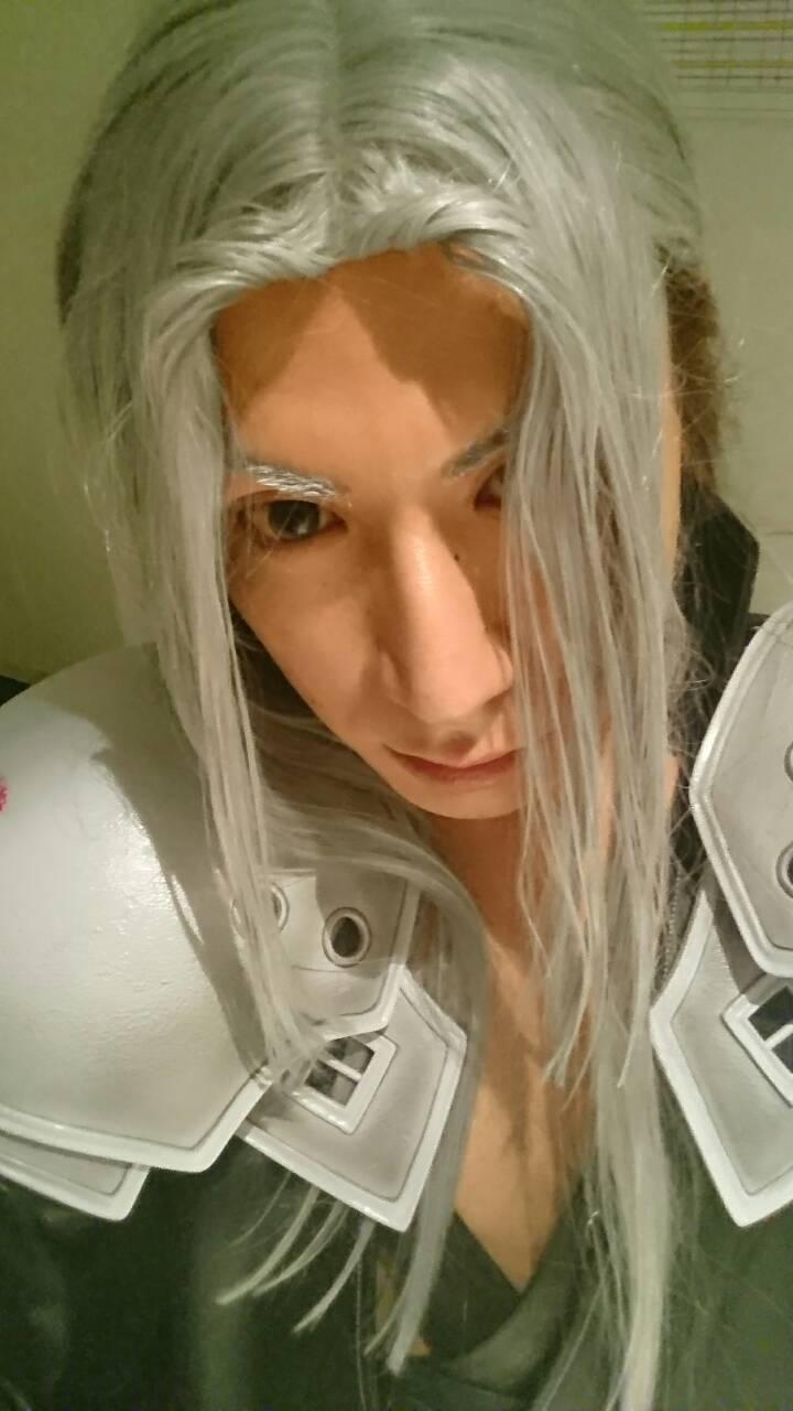 FF7のセフィロスのコスプレをするAIR大阪の干すスト涼聖