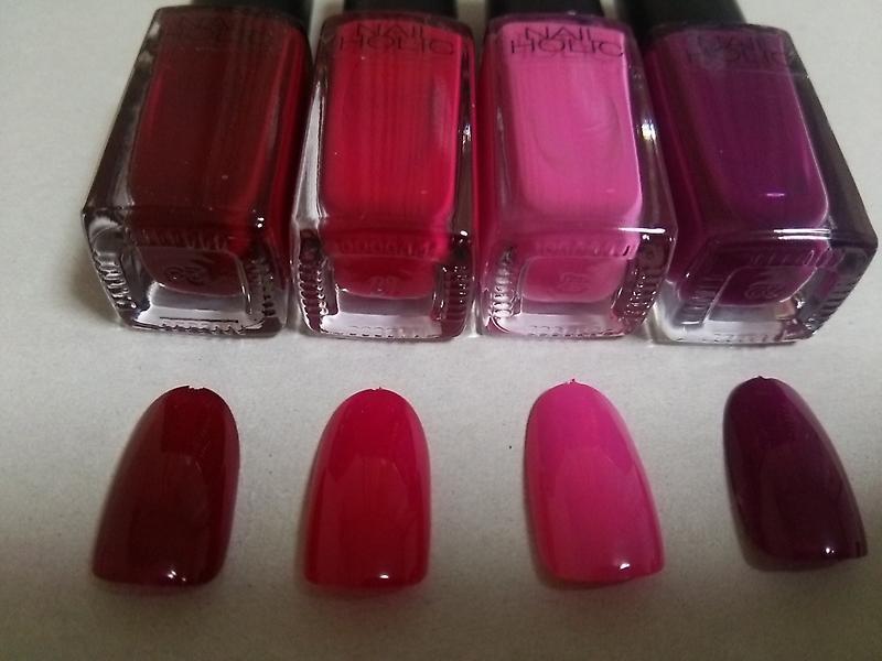 似たような色ではありますが、英語部分(red rose pink purpleと思うのですが)が違うからおおもとの色合いジャンルは違うのですね!