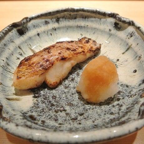六本木 鮨さいとう 長崎アカムツ焼き