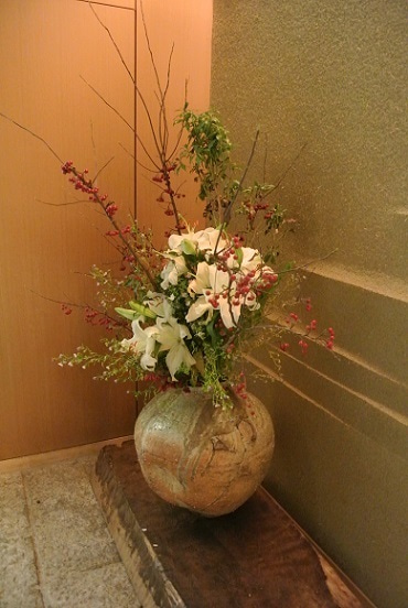 六本木 鮨さいとう 花
