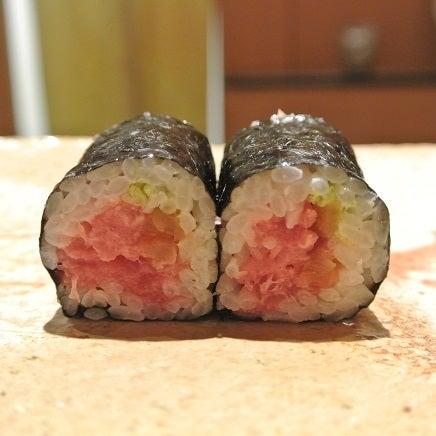 六本木 鮨さいとう とろたく巻