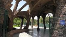 バルセロナ コロニア・グエル教会