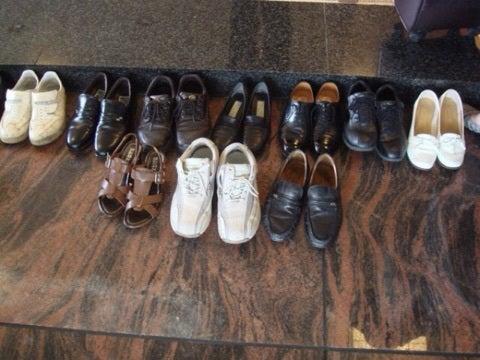 韓国靴の向き